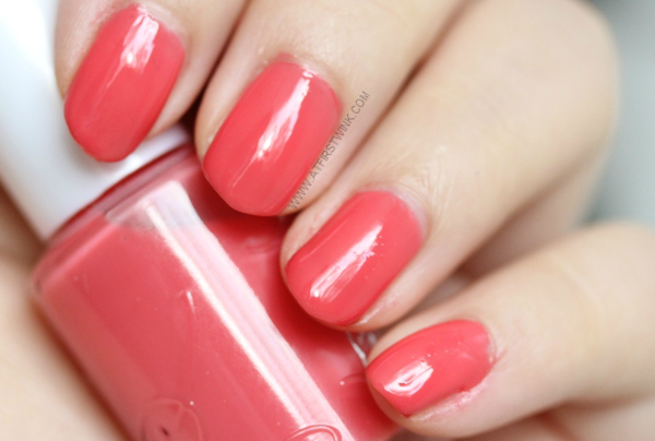 Etude House nail polish OR202 - Grapefruit syrup
