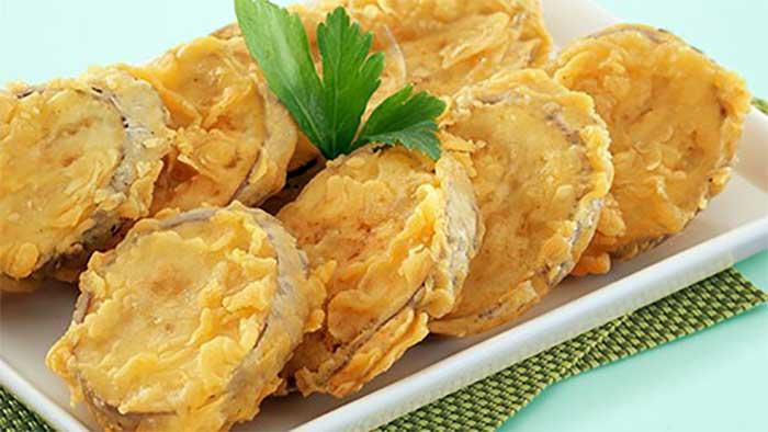 Resep Cara Membuat Terong Gulung Crispy