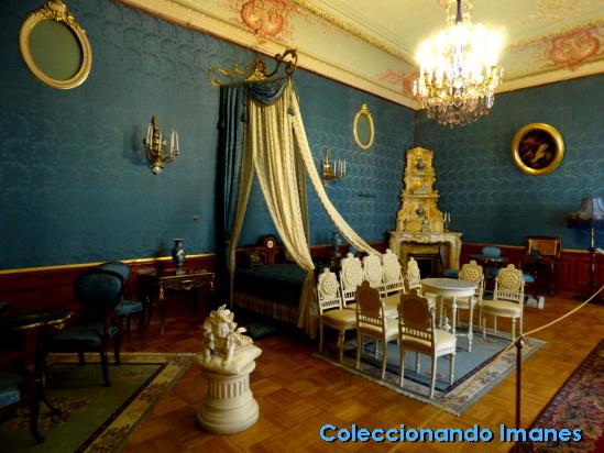 Dormitorio azul, Palacio Yusupov, San Petersburgo