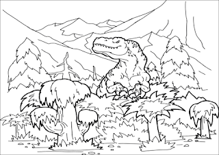 Megalosaurus Coloring Pages