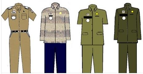 RESMI Mulai 1 Februari Pakaian Seragam Dinas PNS dan