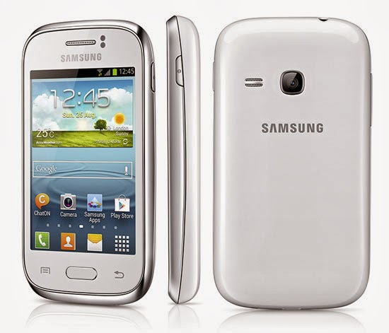 Samsung GALAXY Young GT-S6310 | Spesifikasi lengkap dan Harga