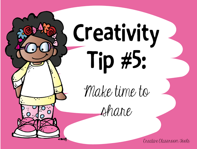 6 easy ways to nurture creativity in the classroom! Simple ideas and inspiration for any classroom.