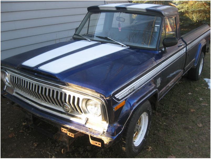 1971 jeep j4000 groosh 39 s garage. Black Bedroom Furniture Sets. Home Design Ideas