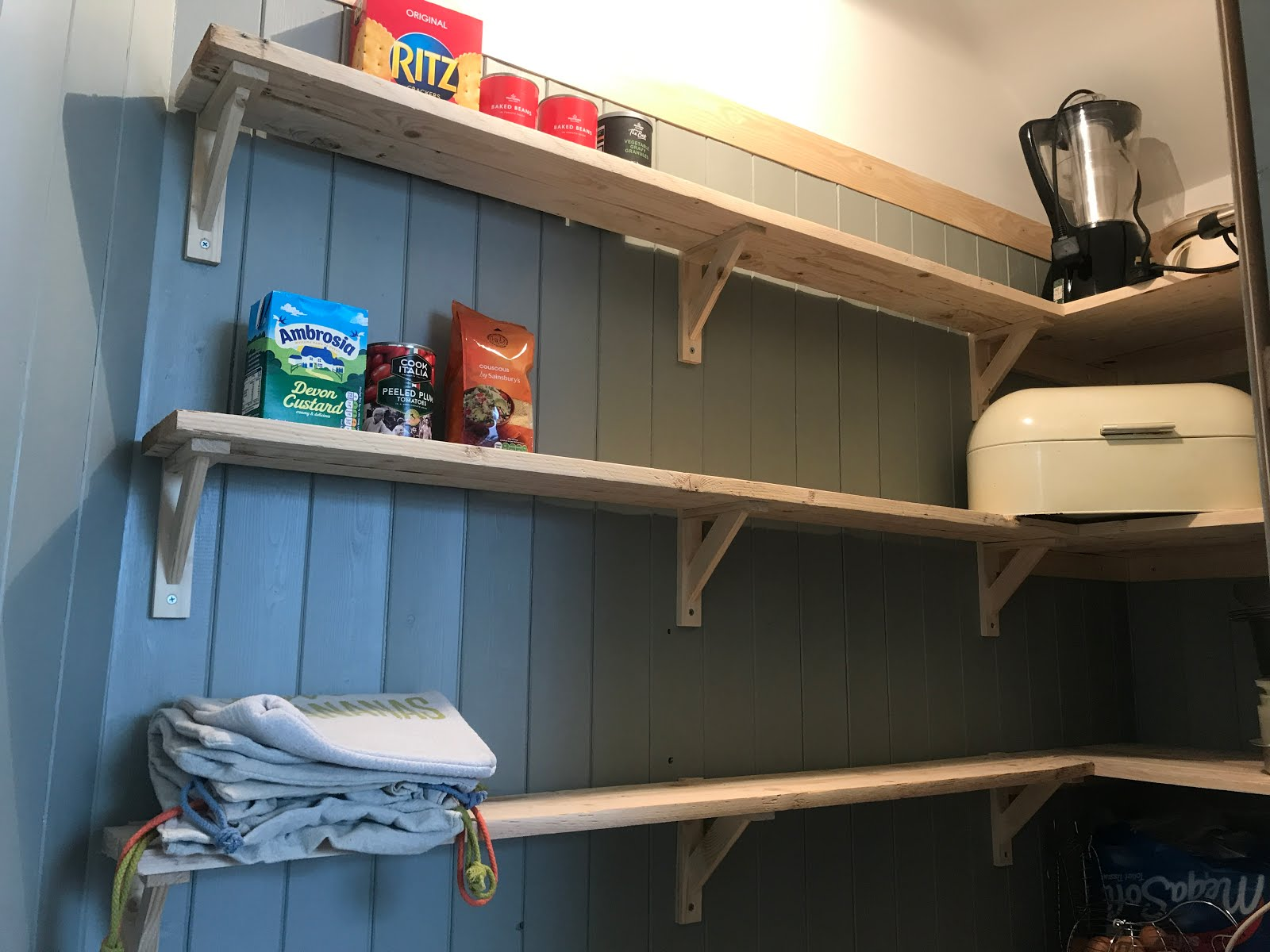Turning a cupboard into a pantry - how to do it!