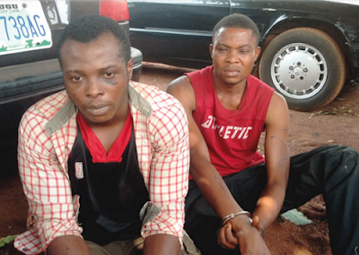 Photo: Cab Driver, Friend Kill American Returnee In Enugu