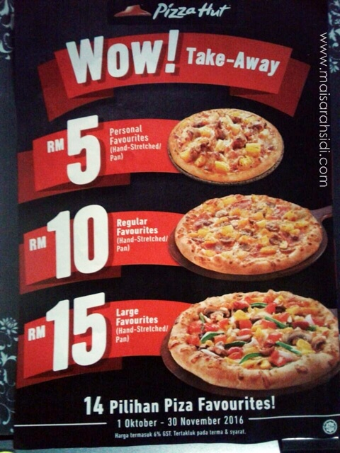 piza murah, Pizza Hut