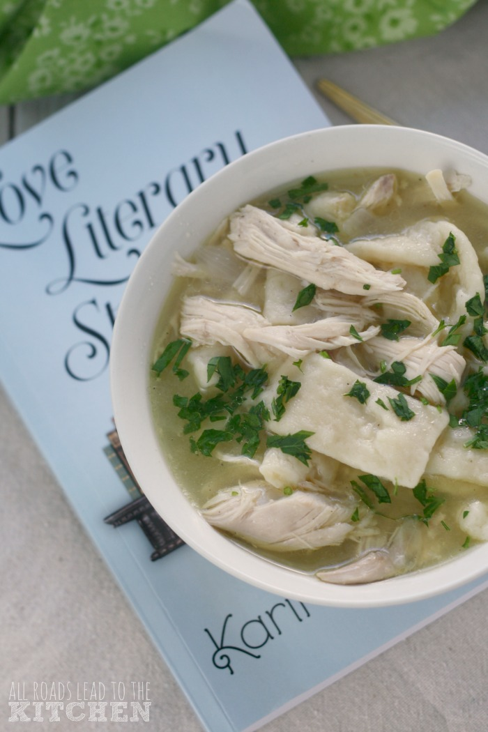Old-Fashioned Chicken and Dumplings | Love Literary Style
