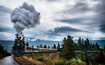 Wallpaper: Kettle Valley steam train