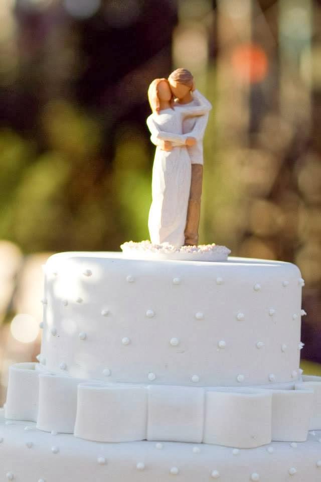 blog de casamento - uma vez noiva sempre noiva - casamento ao ar livre - decoração - casamento de dia - bolo - topo de bolo