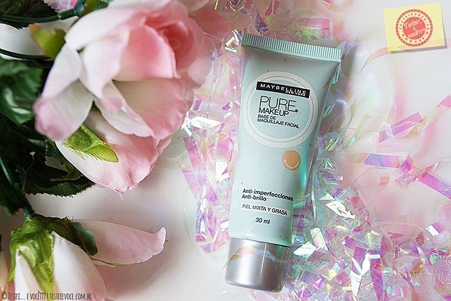 Base Pure Makeup (Bege Claro) - Maybelline