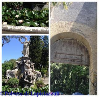 Il Giardino con la fontana flora di Portici