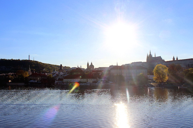 Prague Danube and Castle