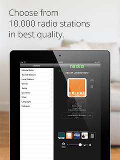 Radio.it: l'applicazione per ascoltare la radio su iPhone, iPod touch e iPad vers 3.15.50