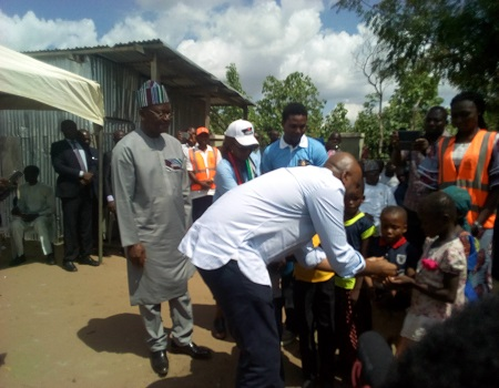 Saraki visits Benue, promises to stop killings