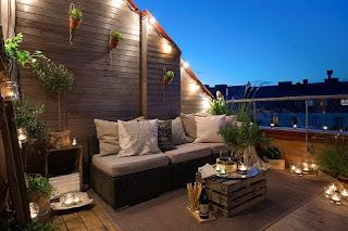diseño balcón moderno