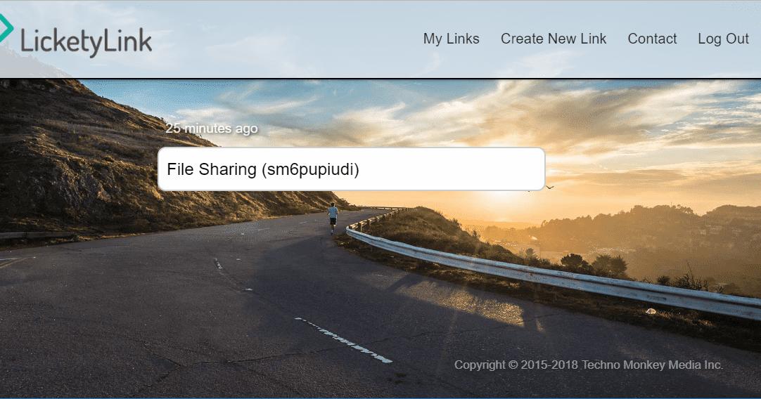 LicketyLink 簡單分享大容量檔案,輕鬆上傳極速下載,即時傳輸節省時間 - 逍遙の窩