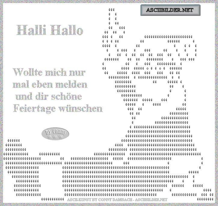 ASCIIBILDER, ASCII KUNST, ASCII ART, Community Bilder,
