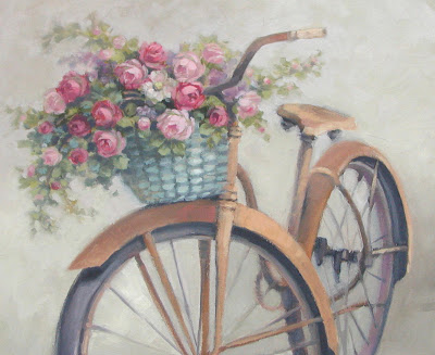 Image result for bike with flowers