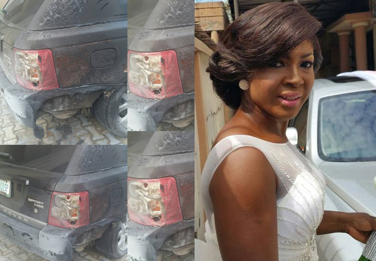 My enemies have failed - Susan Peters narrates how power generator burnt her Range Rover