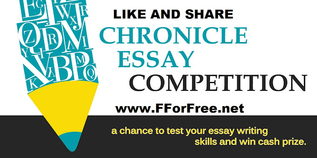 Chronicle India Essay Competition Win Cash Prizes | Free Stuff