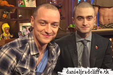 Updated(3): Daniel Radcliffe and James McAvoy on Watch What Happens Live