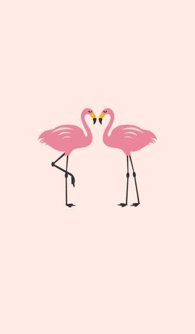 Simple - flamingo