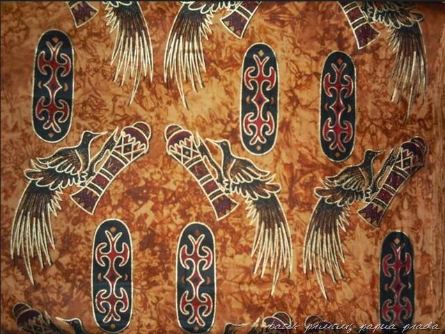 Batik papua motif burung cenderawasih batik indonesia