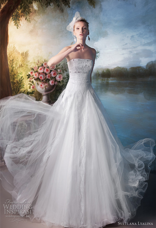 Russian White And Blue Wedding Dress Designs Dressespic 2013