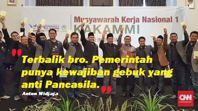 Terang-terangan Banyak Kelompok Ingin Dirikan Negara Islam, Fahri Hamzah dan Fadli Zon CS Malah Tuding Pancasila Jadi Alat Gebuk Jokowi, Komentar Netizen Cerdas....