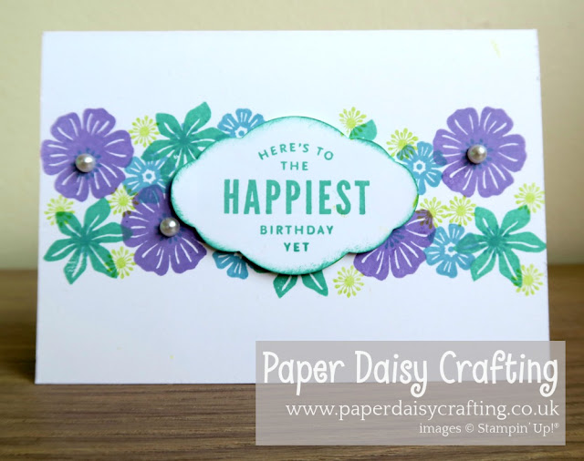 Beautiful Bouquet Simple Stamping Stampin Up