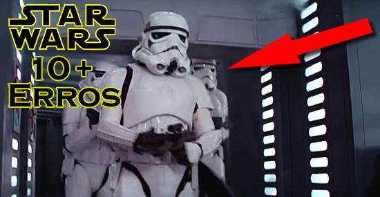 10 incríveis erros dos filmes de Star Wars que você nunca reparou
