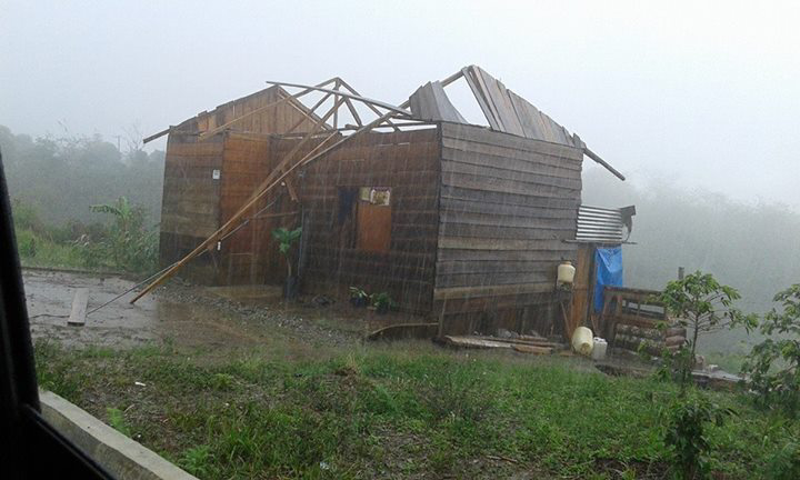 Angin Kencang Obrak Abrik Dua Kecamatan di Aceh Tengah