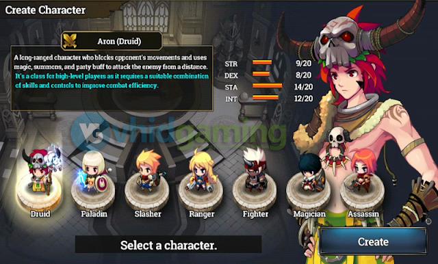 Zenonia S Characters