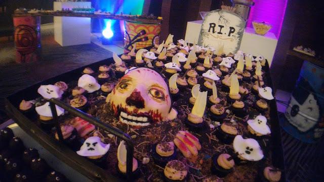 Ghoul's Graveyard Brownies