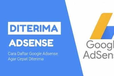 Trik Rahasia Agar Blog Anda Diterima Google Adsense
