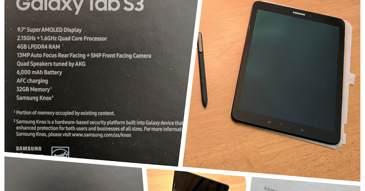 Bryan Hill's Blog: Product Review: Samsung Galaxy Tab S3