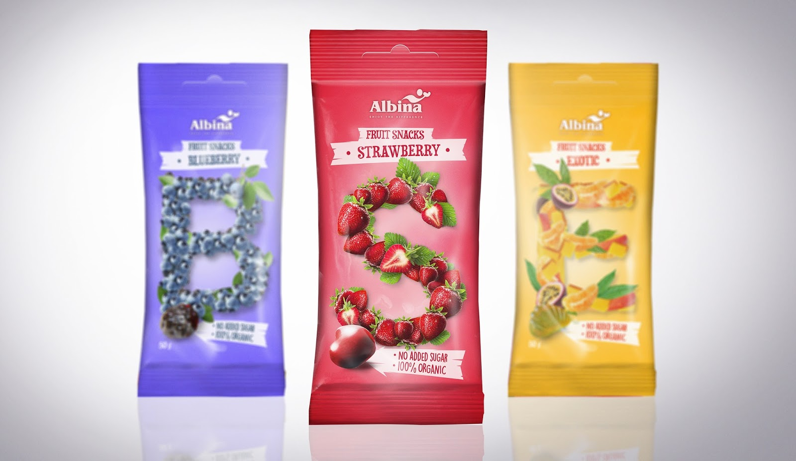 Fruit Snacks On Packaging Of The World Creative Package