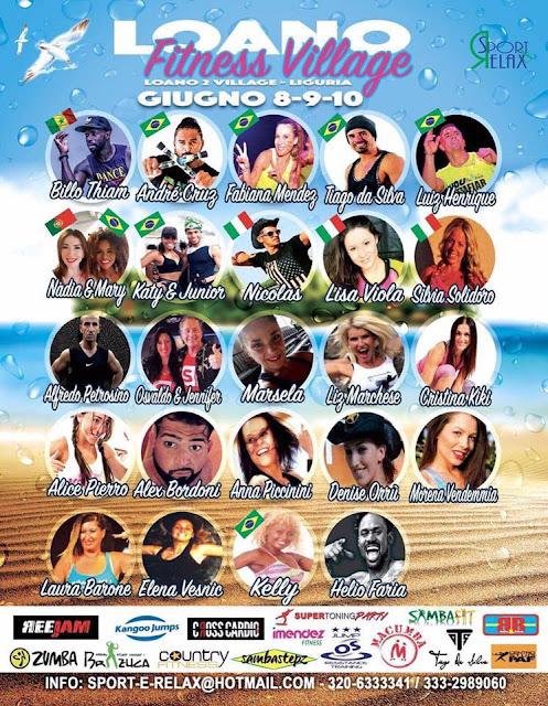 Loano Fitness Village, 8-9-10 giugno 2018 a Loano