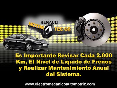 Mantenimiento Frenos Renault Bogota