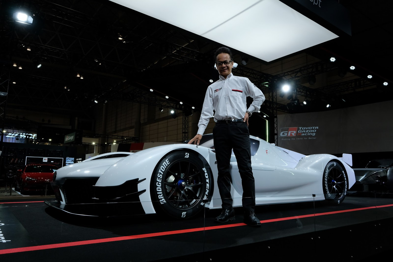 Toyota drops GR Super Sport Concept, a race auto  for the road