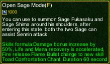 naruto castle defense 6.0 sage mode detail