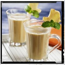 Cara Membuat Wedang Jahe Susu  Yang Enak, resep wedang jahe susu