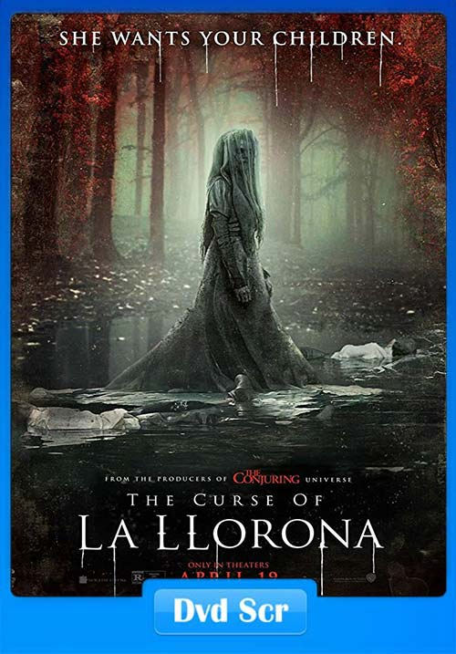 The Curse of La Llorona 2019 720p HQ DVDScr Hindi Eng x264 | 480p 300MB | 100MB HEVC