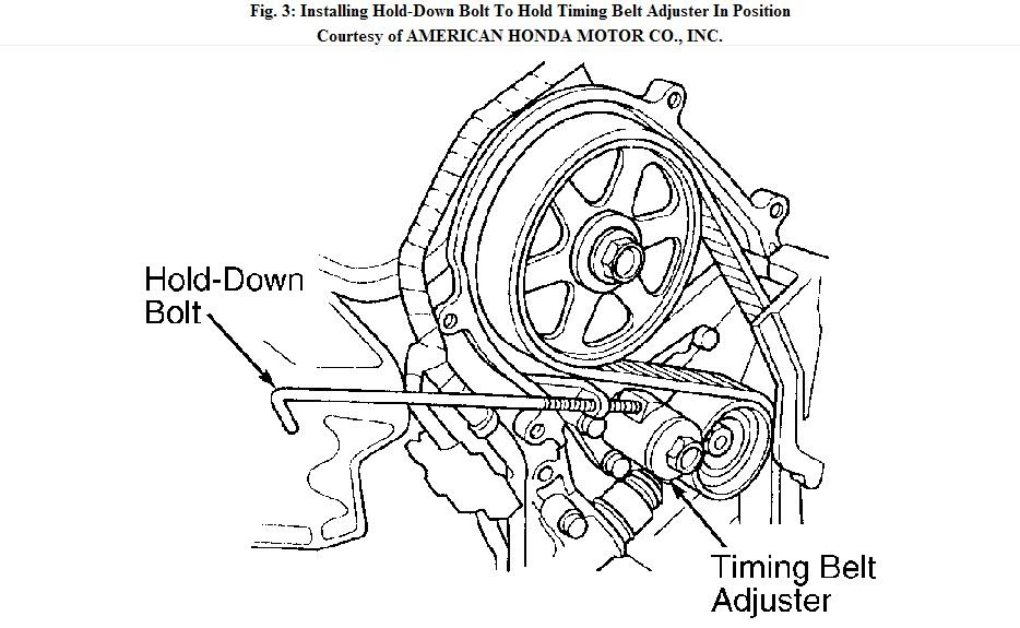 Acura Timing Belt Tensioner