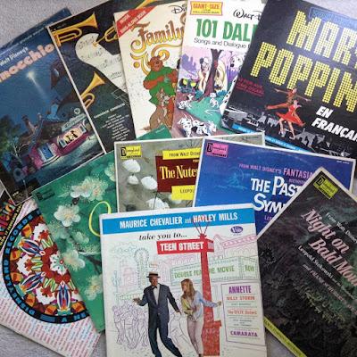 Disneyland Records, LPs, Vinyl Albums