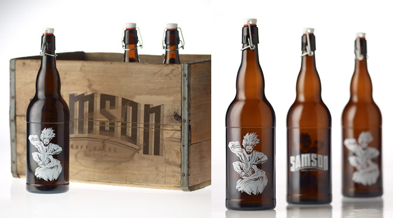 Samson Craft Beer Sean Flanagan beer packaging