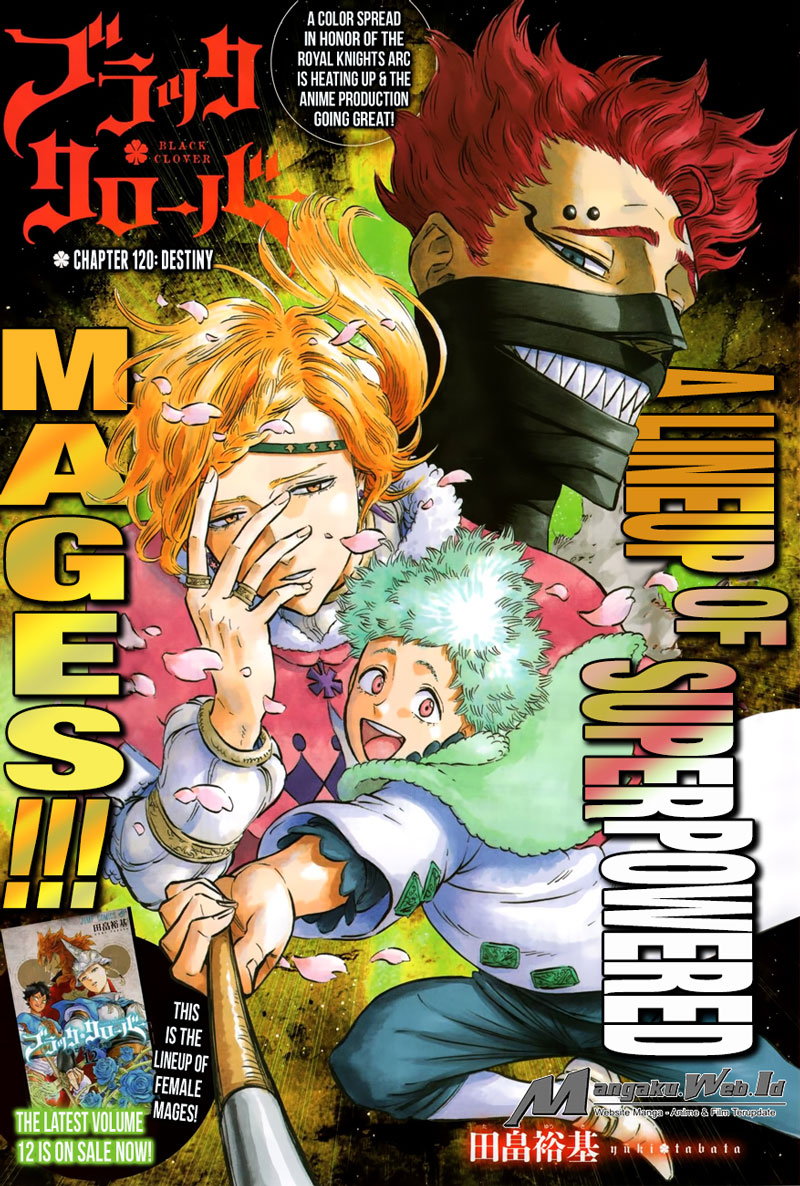 Black Clover Chapter 120 Bahasa Indonesia
