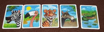 ジョーの動物園 予想カード