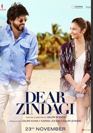 Dear Zindagi (2016) Hindi DVDRip 700MB